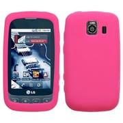 Insten® Skin Case For LG LS670 Optimus S/Optimus U/VM670 Optimus V, Hot-Pink