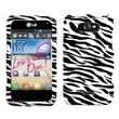 Insten® Cover Case For LG Motion 4G/MS770, Zebra