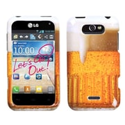 Insten® Phone Case For LG Motion 4G/MS770, Beer
