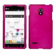 Insten® Protector Case For LG P769 Optimus L9, Hot-Pink