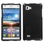 Insten® Cover Case For LG Optimus 4X HD P880, Carbon Fiber
