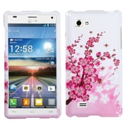 Insten® Cover Case For LG Optimus 4X HD P880, Spring Flowers Image