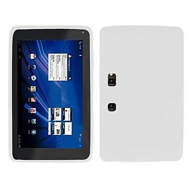 Insten® Skin Cover For LG V909 G-Slate, Solid Translucent White