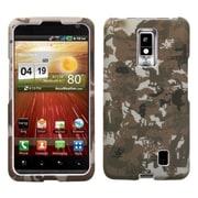 Insten® Faceplate Case For LG VS920 Spectrum, Yellow Lizzo Digital Camo