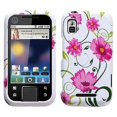 Insten® Protector Case For Motorola MB508 Flipside, Lovely Flowers