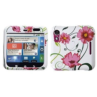 Insten® Faceplate Case For Motorola MB511 Flipout, Flowers