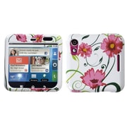 Insten® Faceplate Case For Motorola MB511 Flipout, Flowers