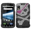 Insten® Protector Case For Motorola Atrix 4G, Hard Diamond Skull