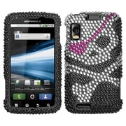 Insten® Protector Case For Motorola Atrix 4G, Hard Diamond Skull