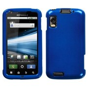 Insten® Protector Cover For Motorola MB860 Olympus Atrix 4G, Solid Dark Blue