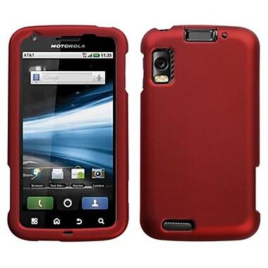 Insten® Protector Cover For Motorola MB860 Olympus Atrix 4G, Titanium Solid Red