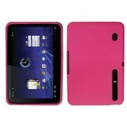 Insten® Skin Case For Motorola MZ600 XOOM, Hot-Pink