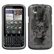 Insten® Protector Case For Motorola XT610 Droid Pro, Vintage Skull
