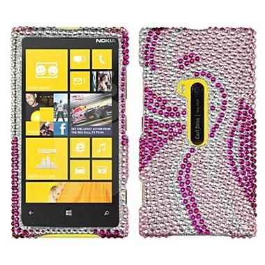 Insten® Diamante Protector Cover For Nokia Lumia 920, Phoenix Tail