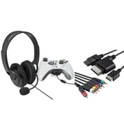 Insten® 1034348 2-Piece Game Cable Bundle For Microsoft Xbox 360
