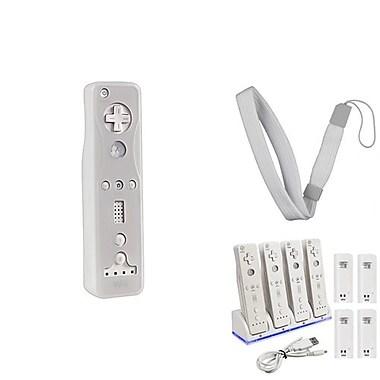 Insten® 1034407 3-Piece Game Hand Strap Bundle For Nintendo Wii/Wii U Remote Controller/DS/DS Lite