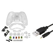 Insten® 1034847 2-Piece Game Cable Bundle For Microsoft Xbox 360