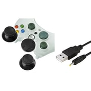 Insten® 1034852 2-Piece Game Cable Bundle For Microsoft Xbox 360