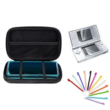 Insten® 1034931 3-Piece Game Case Bundle For Nintendo 3DS/NDS/DS Lite