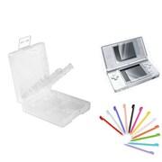 Insten® 1034949 3-Piece Game Case Bundle For Nintendo DS/DS Lite/DSi/DSi LL/XL
