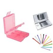 Insten® 1034958 3-Piece Game Case Bundle For Nintendo DS/DS Lite/DSi/DSi LL/XL
