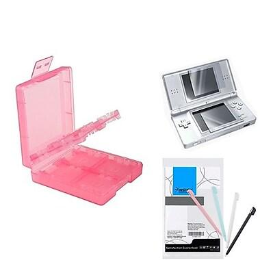 Insten® 1034959 3-Piece Game Case Bundle For Nintendo DS/DS Lite/DSi/DSi LL/XL