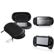 Insten® 1035052 3-Piece Game Case Bundle For Sony PlayStation Vita/Vita 2000