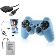 Insten® 1038014 4-Piece Game Adapter Bundle For Sony PS3 Controller