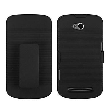 Insten® Hybrid Holster Case For Coolpad 5860E Quattro 4G, Black