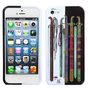 Insten® Phone Protector Cover F/iPhone 5/5S, Ancient Swords