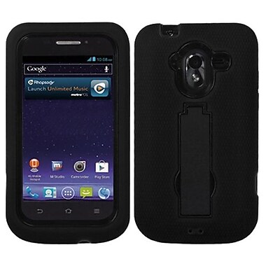 Insten® Symbiosis Stand Protector Case For ZTE-N9120 Avid 4G, Black