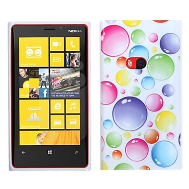 Insten® Candy Skin Cover For Nokia Lumia 920, Rainbow Bigger Bubbles