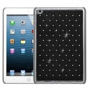Insten® Luxurious Lattice Dazzling Back Protector Cover F/iPad Mini/iPad Mini 2, Black Silver