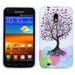 Insten® Silicone Skin TPU Gel Cover Case For Samsung D710/Epic 4G Touch Sprint, Love Tree
