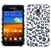Insten® Silicone Skin TPU Gel Cover Case For Samsung D710/Epic 4G Touch Sprint, Colorful Leopard