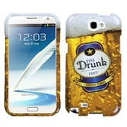 Insten® Phone Protector Cover For Samsung Galaxy Note II (T889/I605/N7100), Piss_drunk2