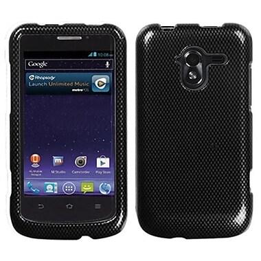 Insten® Protector Case For ZTE-N9120 Avid 4G, Carbon Fiber