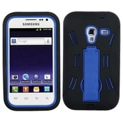 Insten® Symbiosis Stand Protector Cover For Samsung R820 Galaxy Admire 4G, Dark Blue/Black