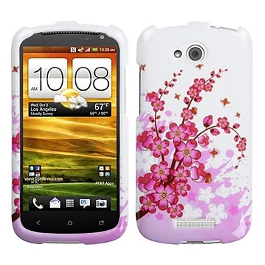 Insten® Protector Cover For HTC-One VX, Spring Flowers