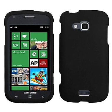 Insten® Rubberized Phone Protector Cover For Samsung i930 ATIV Odyssey, Black