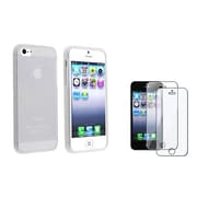 Insten® 1050286 2-Piece iPhone Screen Protector Bundle For iPhone 5/5C/5S