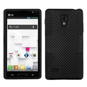 Insten® Protector Case For LG P769 Optimus L9, Black Astronoot