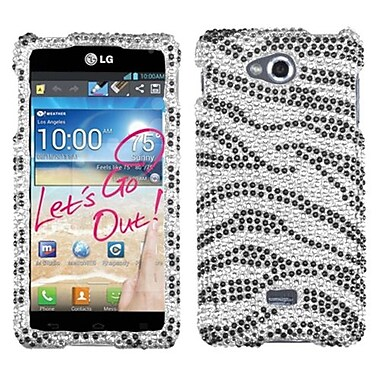 Insten® Diamante Protector Cases For LG MS870 Spirit 4G