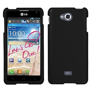Insten® Protector Case For LG MS870 Spirit 4G, Black