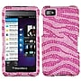 Insten® Diamante Protector Case For BlackBerry Z10, Pink/Hot-Pink