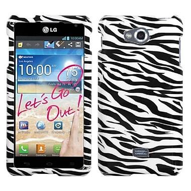 Insten® Protector Case For LG MS870 Spirit 4G, Zebra