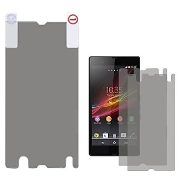 Insten® 2/Pack Screen Protector For Sony Xperia Z C6606