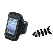 Insten® 1064761 2-Piece MP3 Armband Bundle For Apple iPod Touch 2nd/3rd Gen/4th Gen