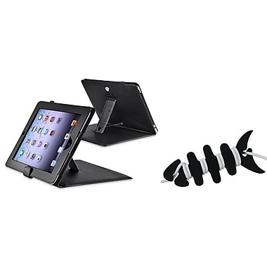 Insten® 1064898 2-Piece Tablet Headset Smart Wrap Bundle For Apple iPad