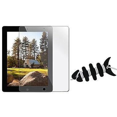 Insten® 1065115 2-Piece Tablet Headset Smart Wrap Bundle For Apple iPad 2/3/4